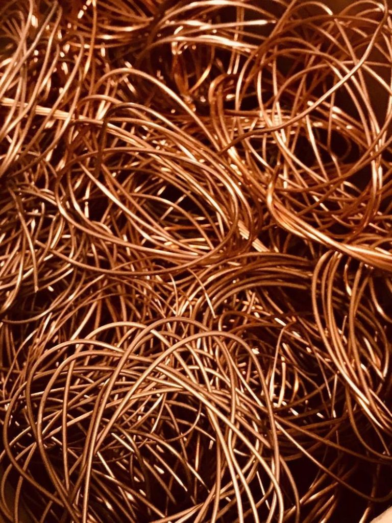 Scrap Copper Prices UK