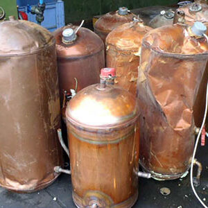 Copper Tanks Scrap Metal